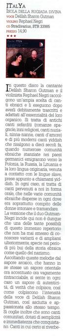 ITalYa 1 Classic Voice giugno 2015